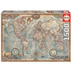 1500pz. - El Mundo, Mapa...