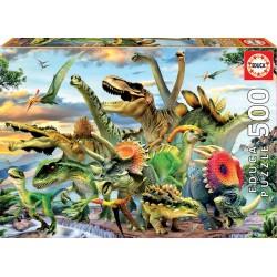 500pz. - Dinosaurios