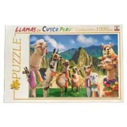 1000pz. - Llamas en Cuzco