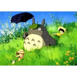 500pz. - De Paseo con Totoro
