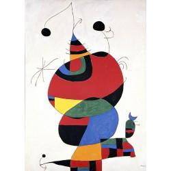 1000pz. - Joan Miró: Mujer,...