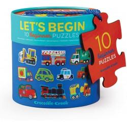 10 puzzles de 2pz. -...
