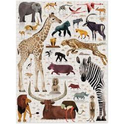 750pz. - Mundo Animales...
